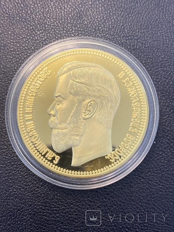 37,5 рублей-100 Франков ( копия) 1902, фото №2