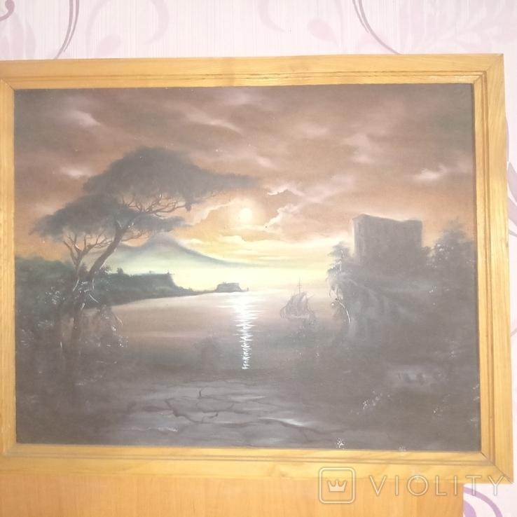 Картина Причал, фото №2