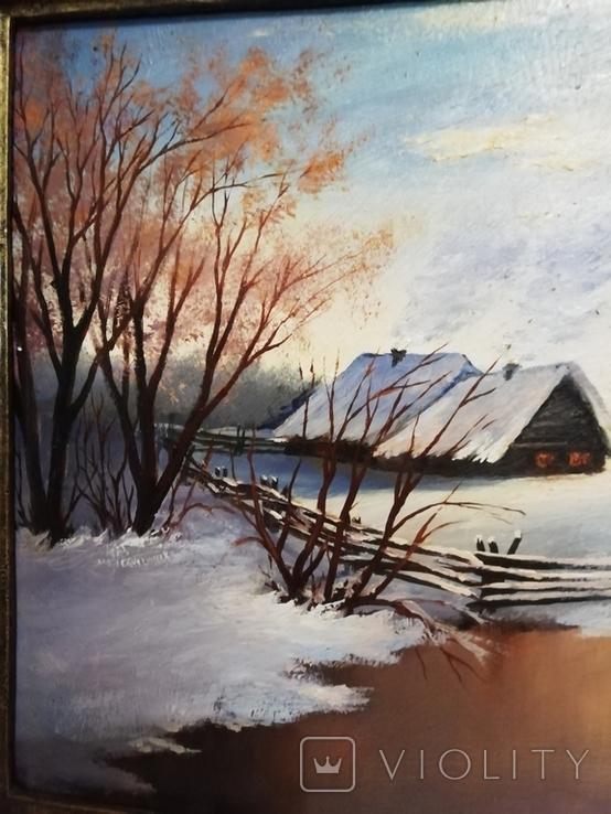 Картина в раме 54 на 44 Калашников В. А., фото №4