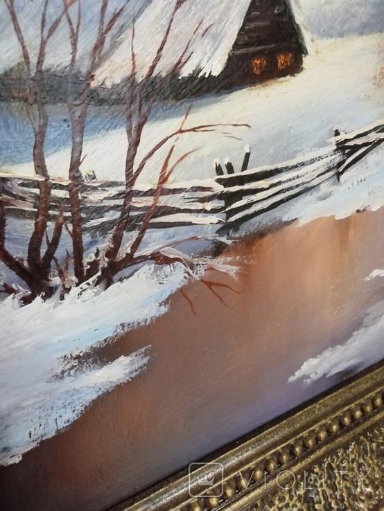 Картина в раме 54 на 44 Калашников В. А., фото №5