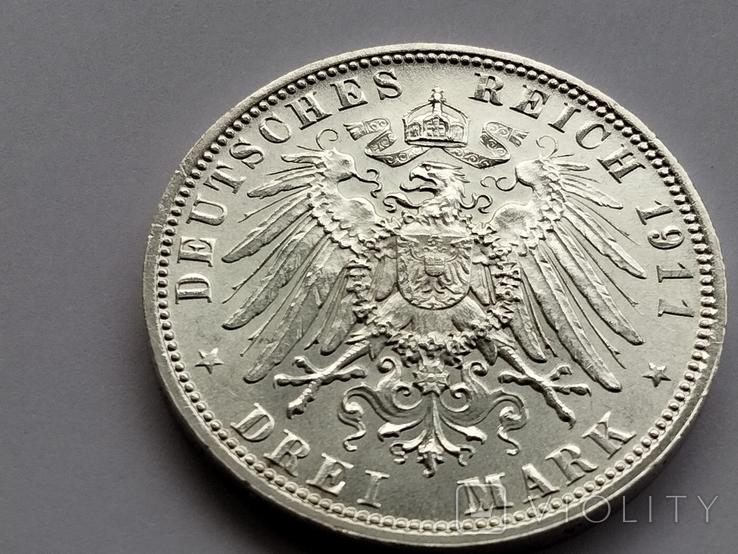 3 марки 1911 г. Бавария, фото №5