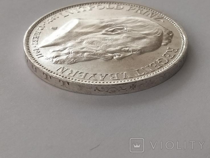 3 марки 1911 г. Бавария, фото №8