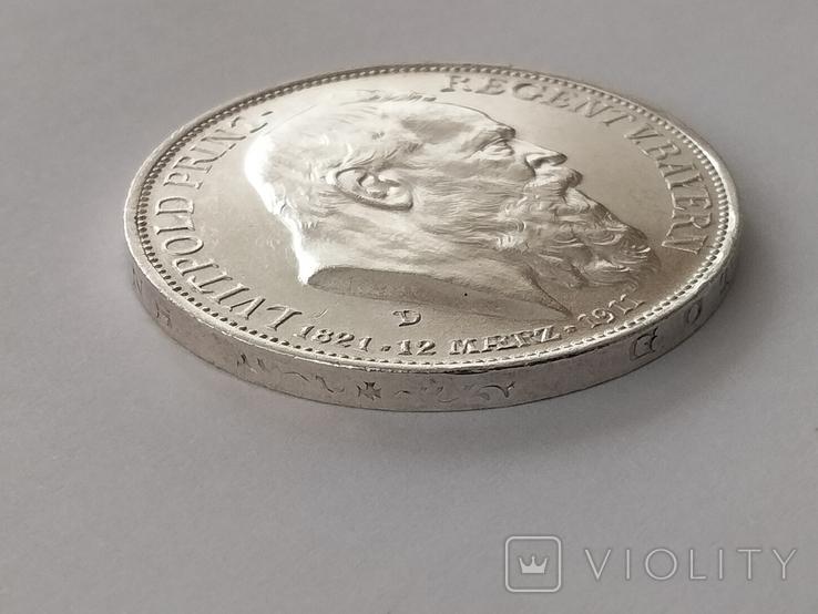 3 марки 1911 г. Бавария, фото №9