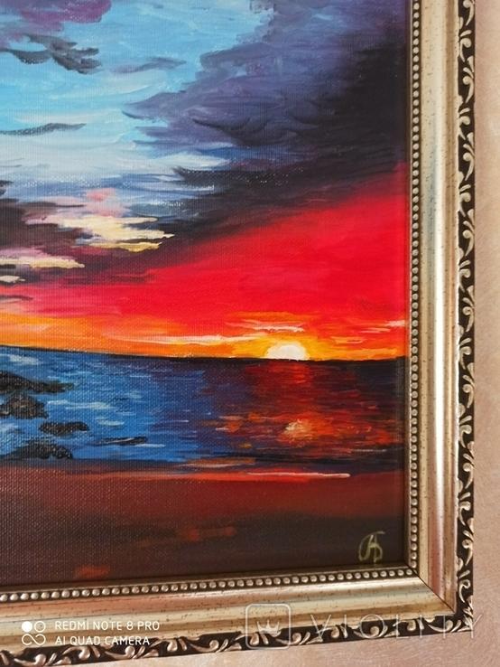 Восход солнца А.Безуглый, фото №3