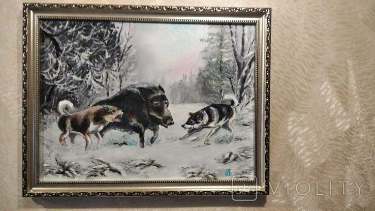 Охота А.Безуглый, фото №3