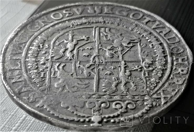 Талер 1631 року, короля Сігізмунда ІІІ Ваза, срібло, фото №7