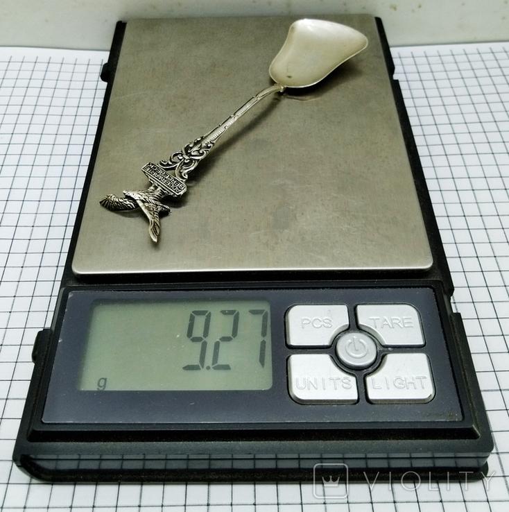 Ложка серебро 835 проба, Adlerwarte Berlebeck., фото №10