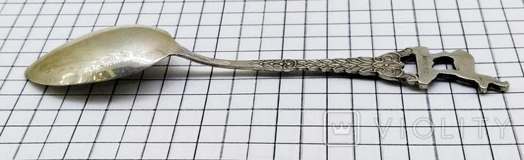 Чайная ложка серебро 800 ANTIKO, фото №7