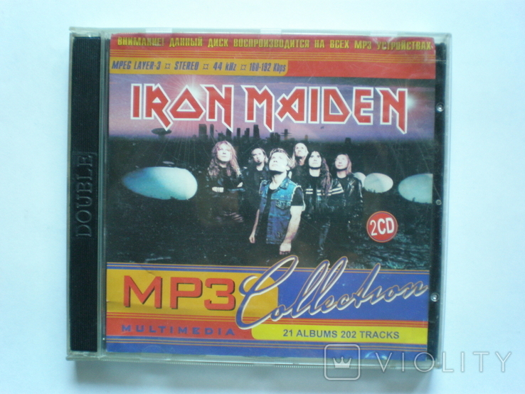 MP3 Iron Maiden, фото №2