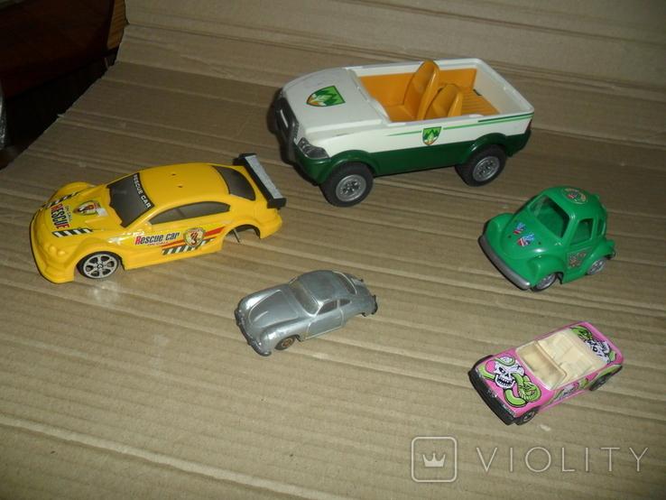 Модель авто машинка 5 штук в лоте, фото №2