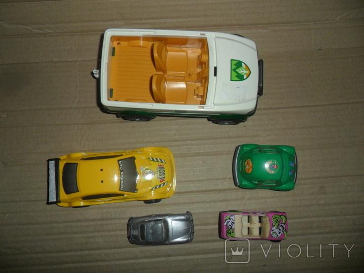 Модель авто машинка 5 штук в лоте, фото №4