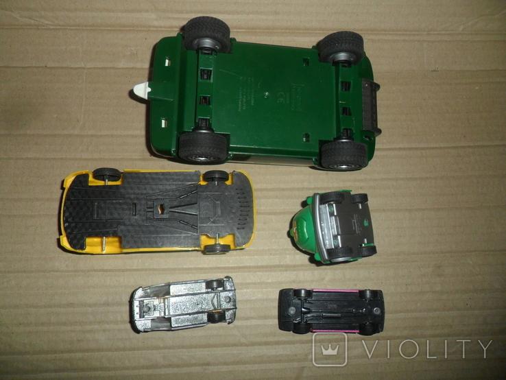Модель авто машинка 5 штук в лоте, фото №5