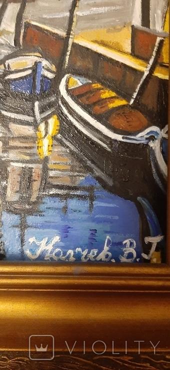 Картина Венеция,худ Колчев, фото №3
