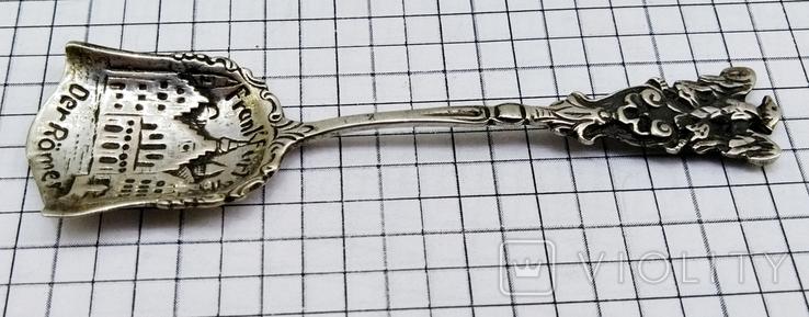 Ложка серебро 800, Frankfurt, фото №3