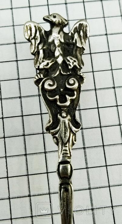Ложка серебро 800, Frankfurt, фото №5
