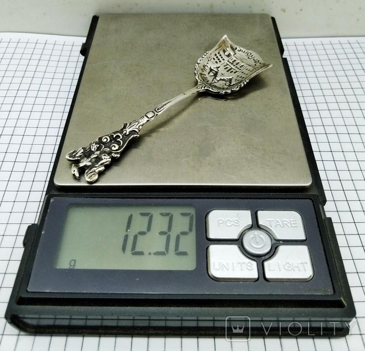 Ложка серебро 800, Frankfurt, фото №13
