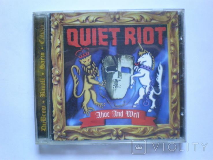 CD Quiet Riot, фото №2