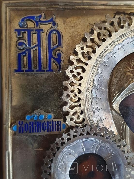 """Икона """"Богородица Холмская """", фото №5"""