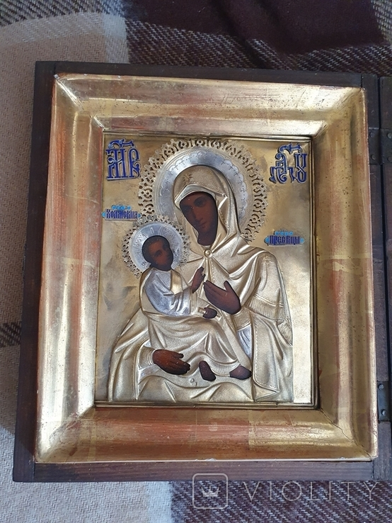 """Икона """"Богородица Холмская """", фото №7"""