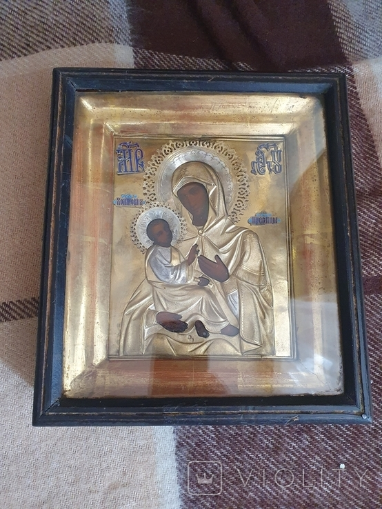 """Икона """"Богородица Холмская """", фото №2"""