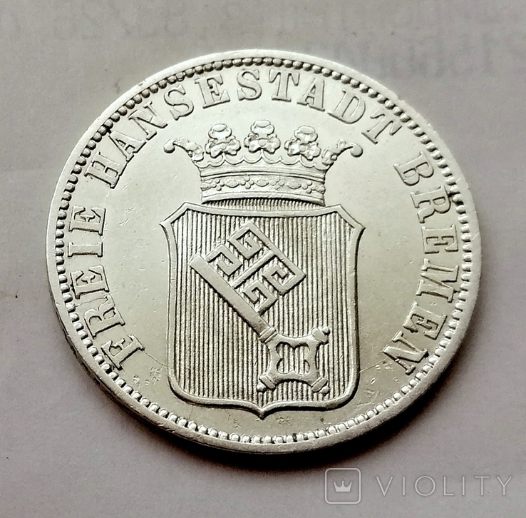 Германия Бремен 12 грот 1859 год, фото №3