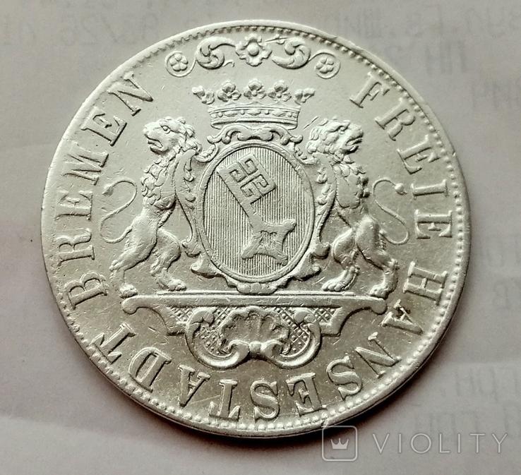 Германия Бремен 36 грот 1845 год, фото №3