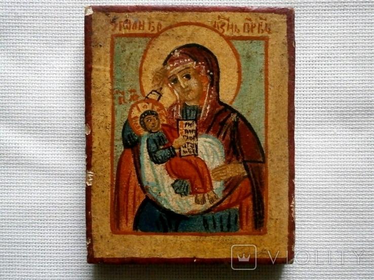 Икона Пресвятой Богородицы Утоли болезни, фото №2