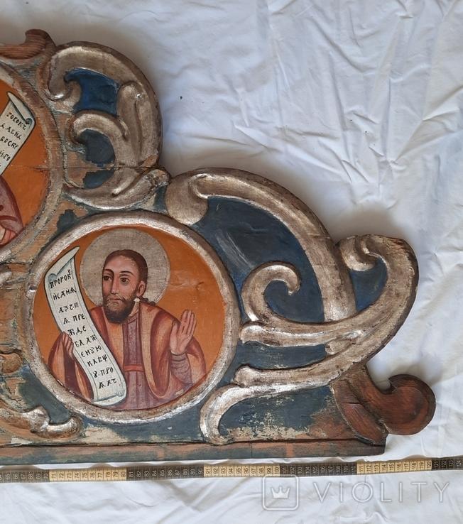 Часть иконостаса. Пророки. Україна 18 ст., фото №3