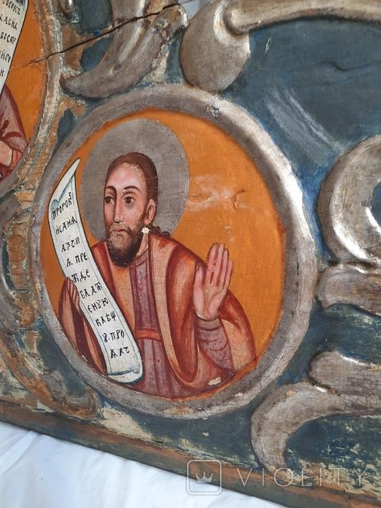 Часть иконостаса. Пророки. Україна 18 ст., фото №7