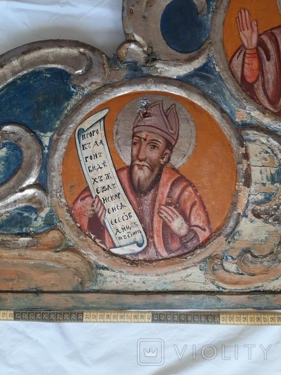Часть иконостаса. Пророки. Україна 18 ст., фото №13