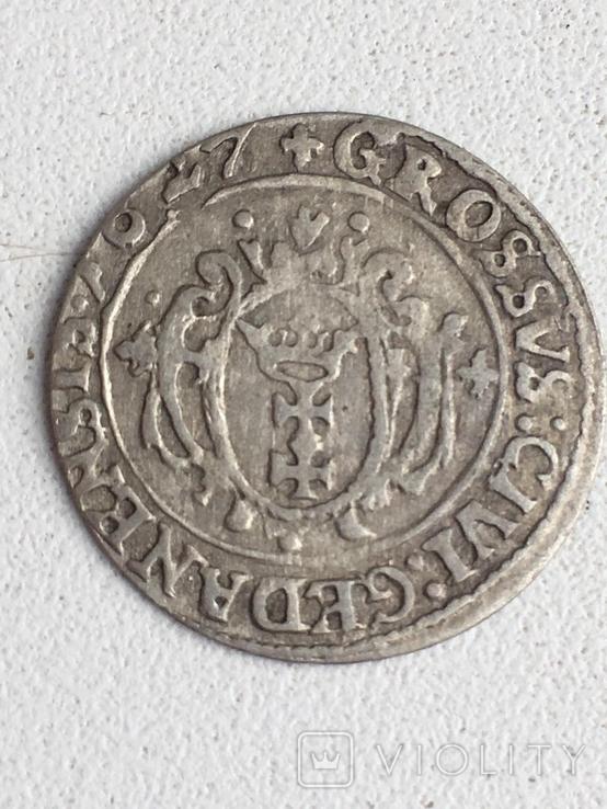 Грош 1627, фото №2
