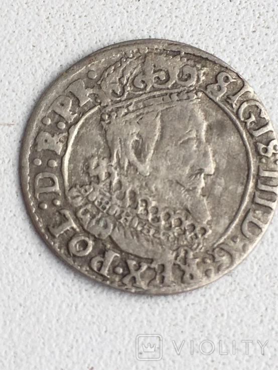 Грош 1627, фото №3