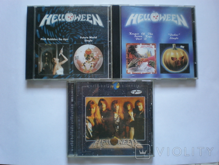 CD Helloween, фото №2