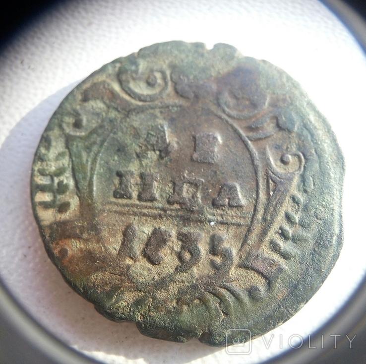ДЕНГА 1735 года, фото №2