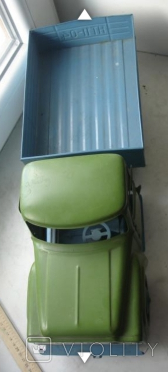 Игрушка машинка большая железная Уралец цена 3 рубля, фото №3