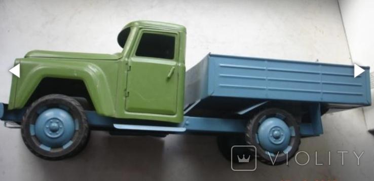 Игрушка машинка большая железная Уралец цена 3 рубля, фото №4
