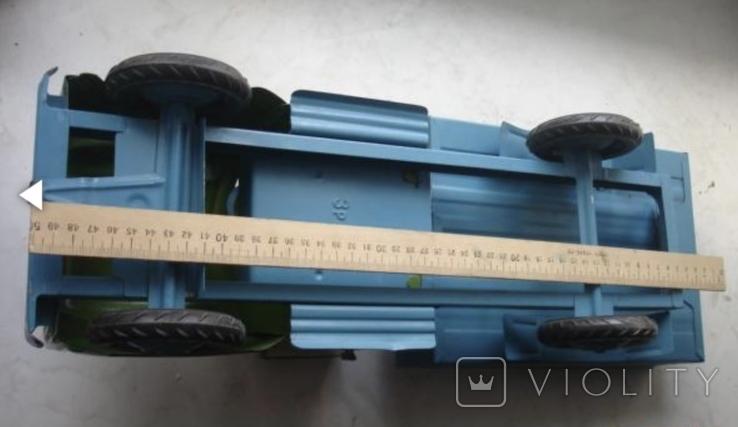 Игрушка машинка большая железная Уралец цена 3 рубля, фото №5