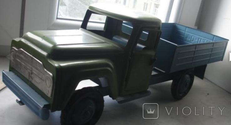 Игрушка машинка большая железная Уралец цена 3 рубля, фото №7