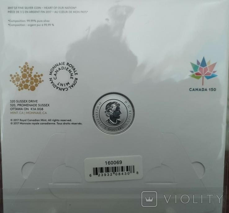 3 доллара. 150 лет конференции Канады, фото №4