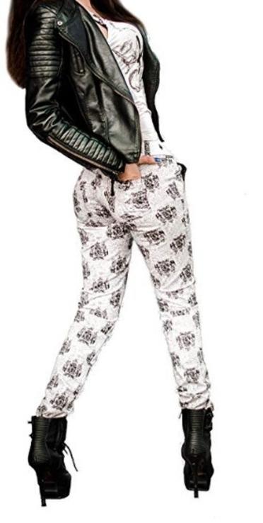 Брюки женские, стрейч джинс, фото №3