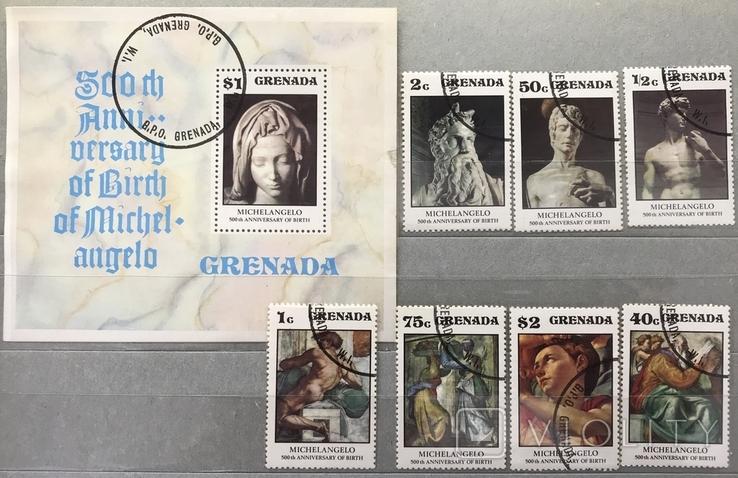 Гренада. Искусство, 1975 г.