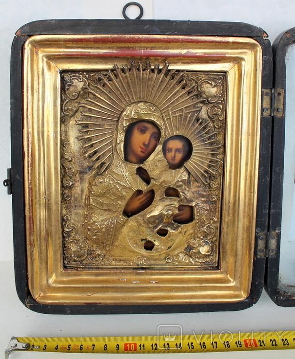 Икона ''Богородица Иверская (или Тихвинская)'', фото №2