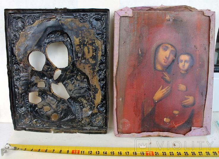 Икона ''Богородица Иверская (или Тихвинская)'', фото №10