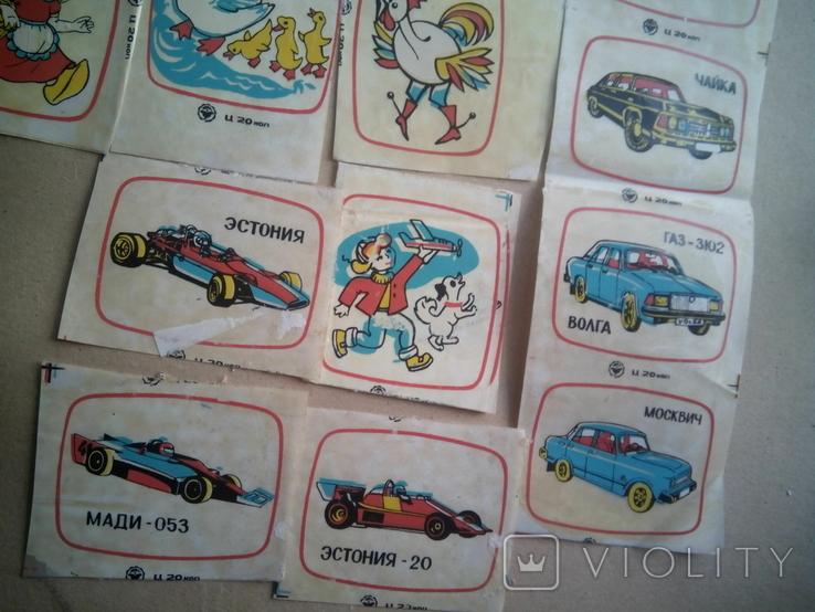 Наклейки-переводки СССР, фото №5