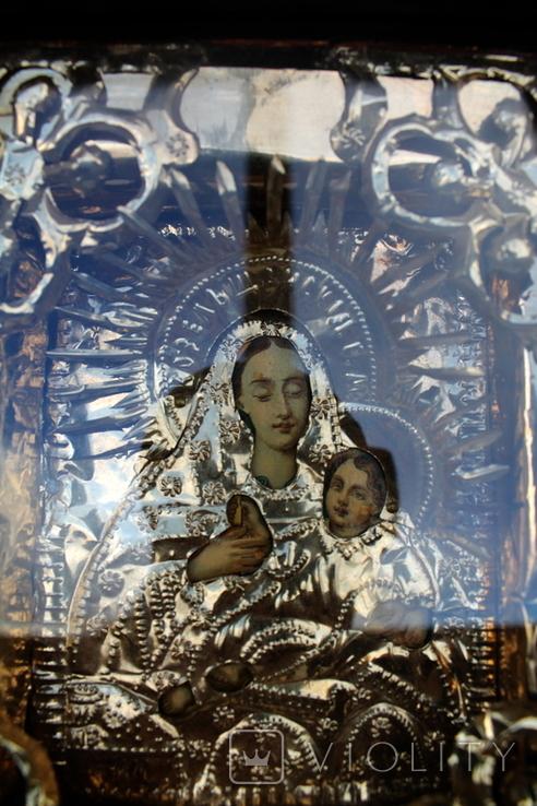 """Икона """"Козельщанская Богородица"""" 17см х 20см, фото №3"""