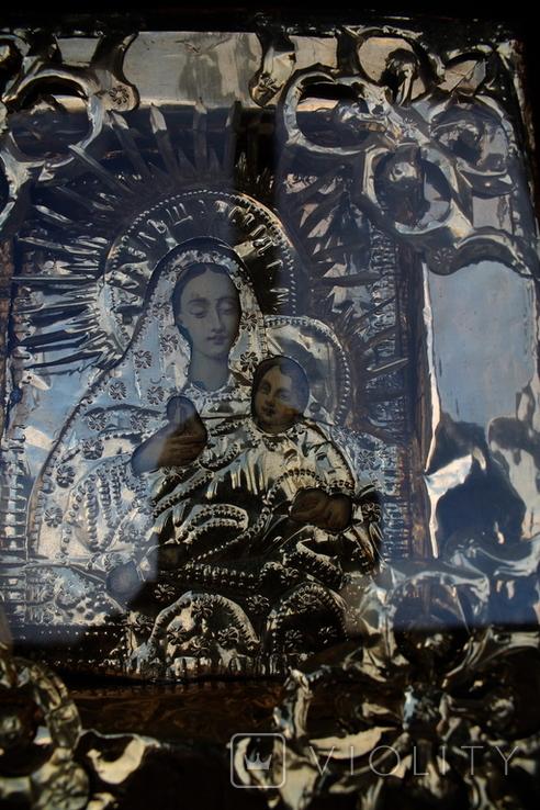 """Икона """"Козельщанская Богородица"""" 17см х 20см, фото №4"""