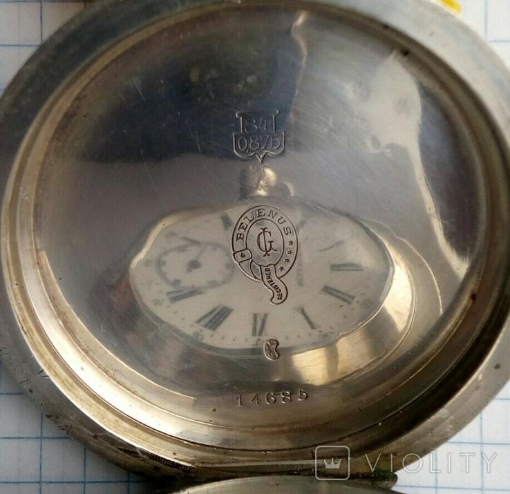 Часы. Швейцария старинные., фото №6