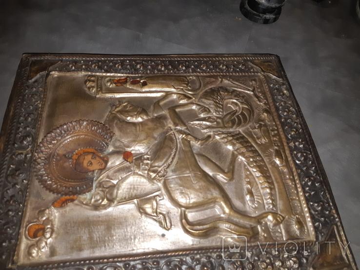 Икона Св. Георгий 31*27, фото №3