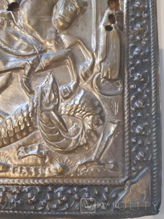 Икона Св. Георгий 31*27, фото №6