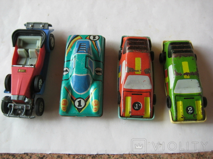 Машинки (4 шт.), фото №2